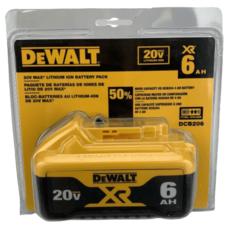 Аккумуляторная батарея DEWALT DCB206 Li-Ion 6.0 Ah 20V MAX* XR