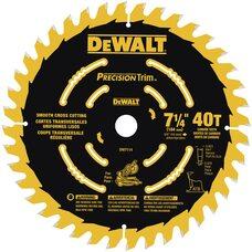 Пильный диск для торцовочной пилы 7-1/4 DEWALT DW7114PT 40T