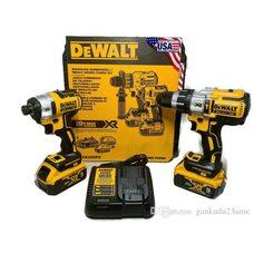Набор аккумуляторных шуруповертов DEWALT DCK299P2 5Ah 20V MAX* XR