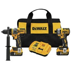 Набор аккумуляторных шуруповертов DEWALT DCK2100P2 Advantage 20V MAX*