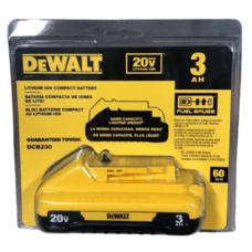 Аккумуляторная батарея DEWALT DCB230 (DCB187) Li-Ion 3.0 Ah 20V MAX* XR