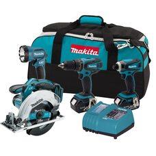 Набор аккумуляторных инструментов Makita LXT405