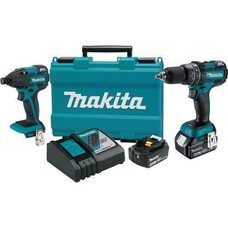Набор аккумуляторных шуруповертов Makita XT248MB 4Ah 18V LXT