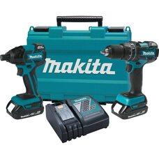 Набор аккумуляторных  шуруповертов Makita XT248R 2Ah 18V LXT