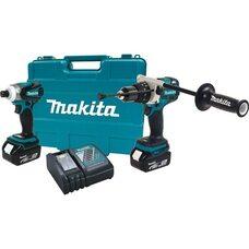 Набор аккумуляторных шуруповертов Makita XT252T 5.0 Ah 18V LXT