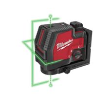 Лазерный уровень с лучами зеленого цвета USB MILWAUKEE 3522-21