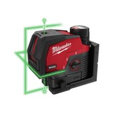 Аккумуляторный лазерный уровень с лучами зеленого цвета M12™ MILWAUKEE 3622-20