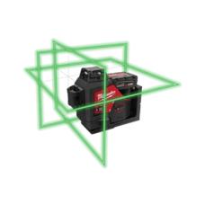 Лазерный уровень 360º с лучами зеленого цвета M12™ MILWAUKEE 3632-21