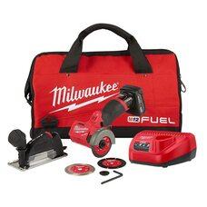 Аккумуляторный бесщеточный угловой резак 75мм Milwaukee M12 FCOT-401 (2522-21XC) FUEL™