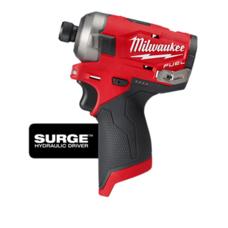 Гидравлический ударный шуруповерт/гайковерт (импакт) MILWAUKEE M12 2551-20 FUEL™ SURGE ™