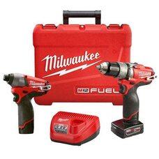 Набор бесщеточных шуруповертов Milwaukee M12 PP2A-402C (2597-22) FUEL™