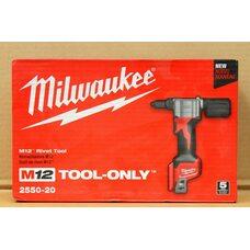Аккумуляторный заклепочник Milwaukee M12 BPRT-0 (2550-20)