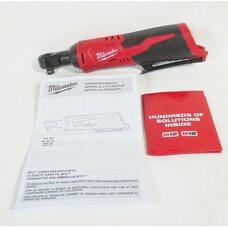Аккумуляторный угловой гайковерт 3/8 Milwaukee M12 IR-0 (2457-20)