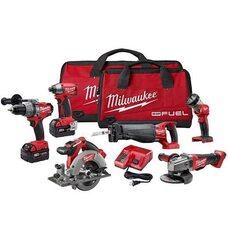 Набор бесщеточного инструмента Milwaukee M18 PP6C-402B (2796-26) FUEL™
