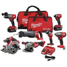 Набор бесщеточного аккумуляторного инструмента Milwaukee M18 (2997-27)  FUEL™