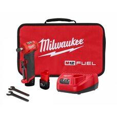 Аккумуляторная бесщеточная прямоугольная шлифмашинка Milwaukee 2485-22 M12 FUEL™