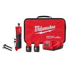 Аккумуляторная бесщеточная прямая шлифмашинка  Milwaukee 2486-22 M12 FUEL™
