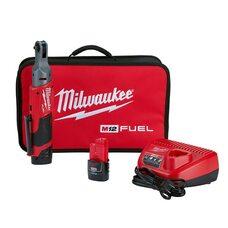 Аккумуляторный бесщеточный угловой гайковерт 1/4 Milwaukee 2556-22 M12 FUEL™
