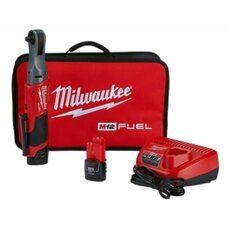 Аккумуляторный бесщеточный угловой гайковерт 3/8 Milwaukee 2557-22 M12 FUEL™