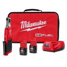 Аккумуляторный бесщеточный угловой гайковерт 1/4 MILWAUKEE 2566-22 M12 FUEL™