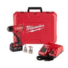Аккумуляторный строительный фен Milwaukee 2688-21 (BHG-502C) M18