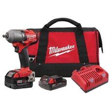 Аккумуляторный бесщеточный гайковерт 1/2 Milwaukee 2861-22CX М18 FUEL™
