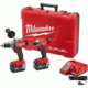 Набор бесщеточных шуруповертов Milwaukee M18 FPP-502C (2897-22) FUEL™ 5.0Ah