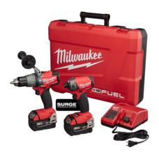 Набор бесщеточных шуруповертов Milwaukee M18 5.0Ah (2899-22) FUEL™