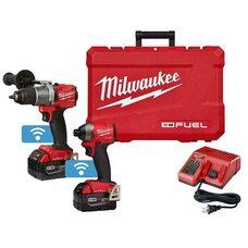 Набор бесщеточных шуруповертов Milwaukee M18 (2996-22) 5.0Ah FUEL™ ONE-KEY™