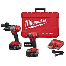 Набор бесщеточных шуруповертов Milwaukee M18 5.0Ah 2999-22 FUEL™
