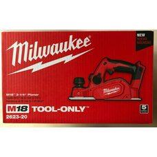 Аккумуляторный рубанок Milwaukee  M18 BP-0 (2623-20)