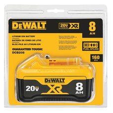 Аккумулятор DEWALT DCB208 Li-Ion 8.0 Ач 20V MAX* XR