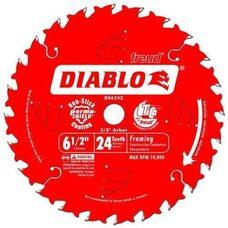 Диск пильный по дереву Freud D0624X (Diablo) 165x24Tx16