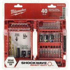 Набор бит 40 шт Milwaukee 48-32-4006 Shockwave Impact Drive