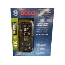 Лазерная рулетка дальномер Bosch GLM165-25G Professional BLAZE