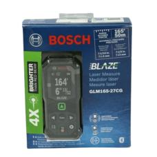 Лазерная рулетка дальномер Bosch GLM165-27CG Professional BLAZE Bluetooth