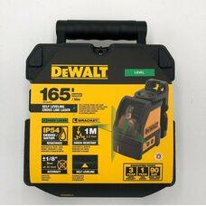 Лазерный уровень нивелир DEWALT DW088CG с лучами зеленого цвета