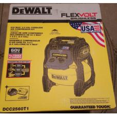 Аккумуляторный компрессор DEWALT DCC2560T1 (DCC1054) FLEXVOLT 60V MAX*