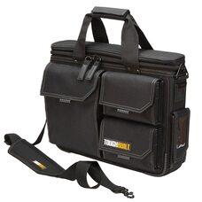 Черная сумка для ноутбука с быстрым доступом и плечевым ремнем черного цвета TOUGHBUILT TB-EL-1-M2